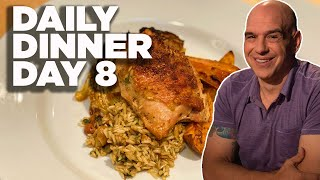Cook Along With Michael Symon   One-Tray Chicken With Rice Pilaf   Daily Dinner Day 8