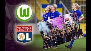 Футбол Женская Лига чемпионов УЕФА финал Вольфсбург - Лион 2018/ НАГРАЖЕНИЕ