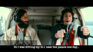 """The Dictator   """"Helicopter"""" Scene Whit Textsubtitles   Official [1080p HD]"""