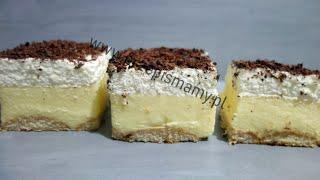 Ciasto dla zabieganych! Bardzo szybkie ciasto! Jak zrobić Budyniowiec #Szybkie #Ciasto