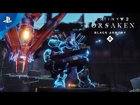 Destiny 2: Forsaken Annual Pass – Black Armory Bergusia Forge Trailer   PS4
