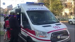 В Киеве мужчина ударил девушку по лицу и зарезал заступившегося за нее парня