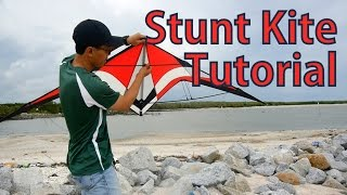 How To Assembly and Fly A Stunt Kite | Beginning