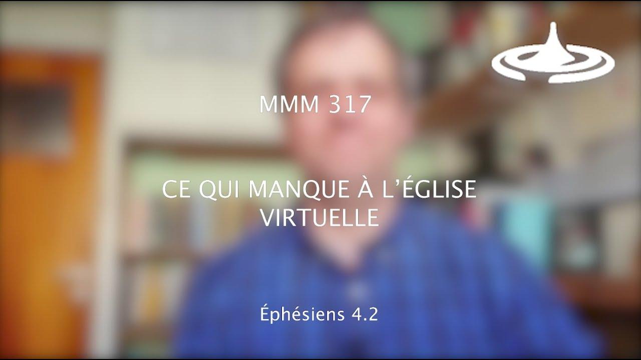 Ce qui manque à l'église virtuelle (Eph 4.2)