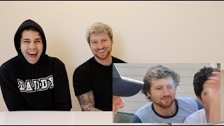 REACTING TO SCOTTY FROM DAVID'S VLOG!!