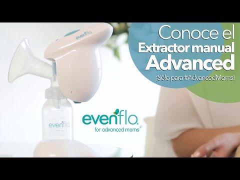 ¿Cómo usar el Extractor Eléctrico de leche Advanced?