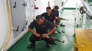 Gurkha maritime marshals from Nepal