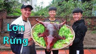 Hữu Bộ   Lợn Rừng Nướng Siêu Cay   Grilled Wild Boar