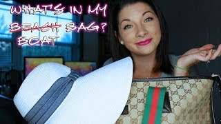 TAG :: What's In My Boat Bag