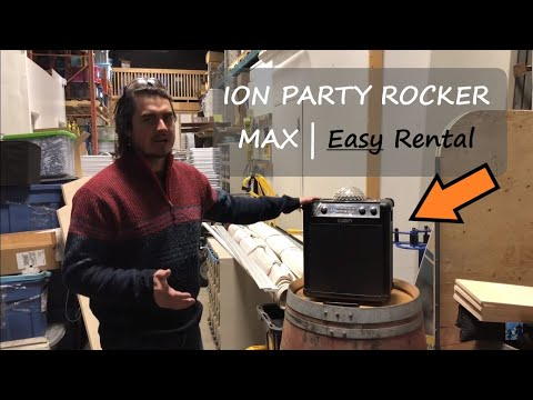 Portable Wireless Speaker | Start An Event Business: Back To Basics | Ion Party Rocker Max Review