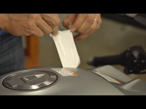How To Remove Factory Warning Stickers From Your Motorcycle | MC GARAGE TIPS