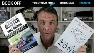 Book Off! How To Master The Art of Kart Driving (Terence Dove) & In The Zone (Clyde Brolin) TRDC