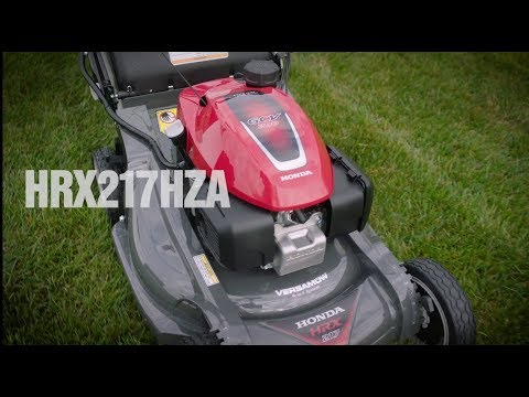 2020 Honda Power Equipment HRX217HZA GCV200 Self Propelled in Springfield, Missouri - Video 1