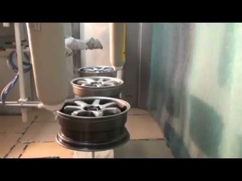 Velg-coating met Wagner coating systemen