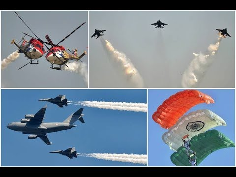 Stunning Air Demonstration at Defence India Expo 2020