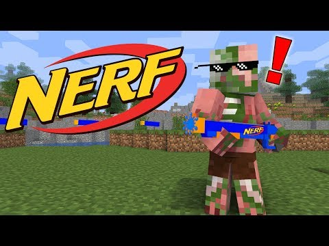 Monster School : NERF !! War MONSTERS CHALLENGE !