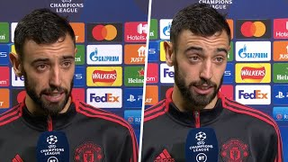 """""""I always thought we could win, even after they scored."""" Bruno Fernandes on last gasp victory!"""
