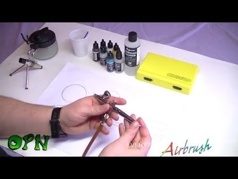 How To Airbrush for the complete beginner
