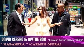 Mythe Box en duo avec David Serero, le célèbre chanteur d'Opéra à Broadway