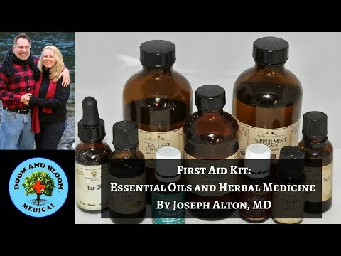 Survival First Aid Kit: Storing Essential Oils and Natural Medicine