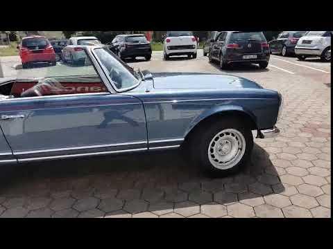Video Mercedes-Benz 250 SL Pagode.D Fzg.Servo.Hardtop.TÜV NEU.i.A.