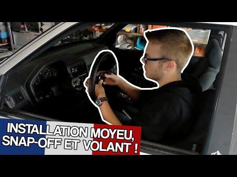 106 XSI | Changement de volant ! Moyeu + snap-off