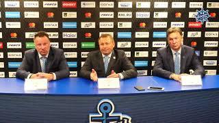 Пресс-конференция перед стартом Чемпионата КХЛ во Владивостоке