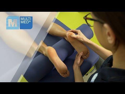 Do pomiaru ciśnienia krwi na nodze