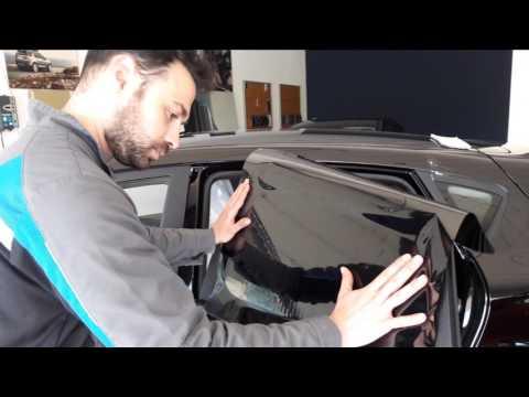 Como Tintar la lunas de tu coche - Tutorial