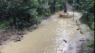 One of our water crossings