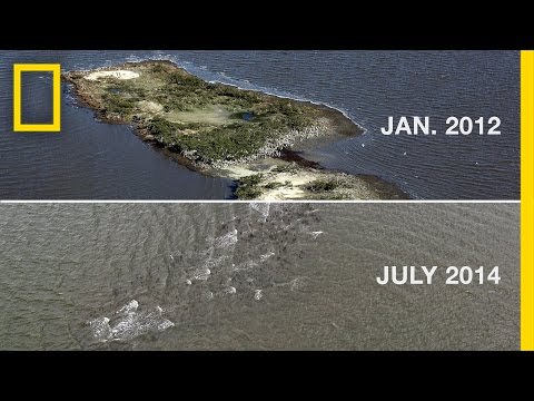 The Gulf Oil Spill Disintegrated This Island | National Geographic thumbnail