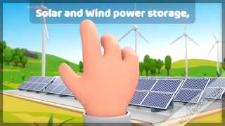 Great new storage green solution for solar and wind power - greennh3.com