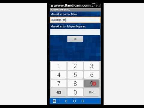 Cara bayar BPJS via Bri Mobile