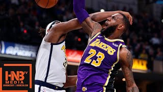 Los Angeles Lakers Vs Indiana Pacers Full Game Highlights | 02052019 NBA Season