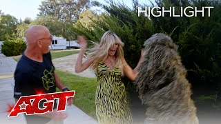 David Dobrik Pranks Heidi Klum and Terry Crews at AGT! - America's Got Talent 2020 thumbnail