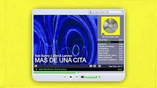 Video Más De Una Cita (Audio) de Bad Bunny feat. Zion y Lennox