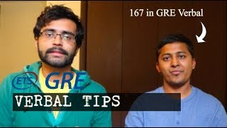 GRE Verbal TIPS from 167 scorer | MS in US