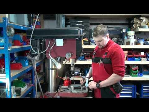 Gewindebohren - Gewindeschneiden anleitung wie? Videotipp von M1Molter