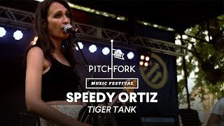 "Speedy Ortiz performs ""Tiger Tank"" - Pitchfork Music Festival 2014"