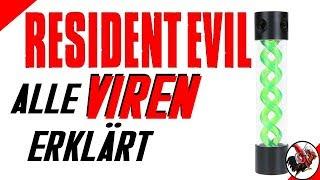 Welche Viren und Parasiten gibt es und was bewirken sie? (Resident Evil Lore)