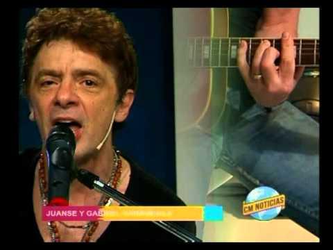Gabriel Carámbula video Rock del pedazo c/ Juanse - Acústico - Diciembre 2015