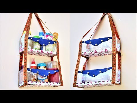 How To Make Rack From Plastic Bottle At Home Waste Material Craft