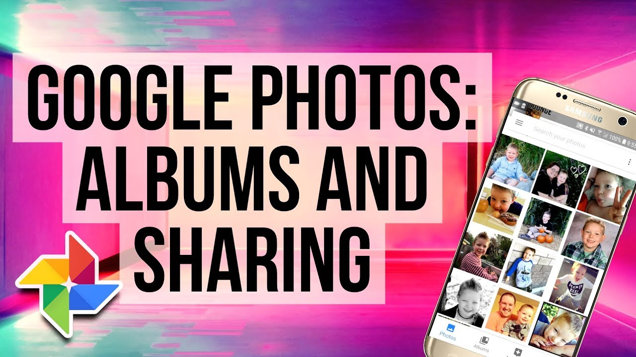 Share links to an image in Google Photos