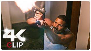 Michael B. Jordan Vs House Invaders Scene   WITHOUT REMORSE (NEW 2021) Movie CLIP 4K