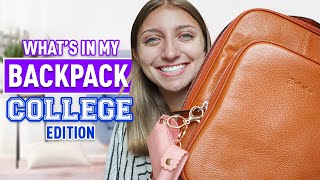 What's In My Backpack COLLEGE Edition! | Back To School 2020