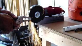 How To Use Your Angle Grinder Like A Cutting Wheel A Grinder And As A Polisher
