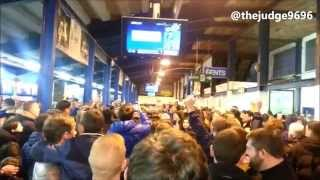 Everton Fans Singing v Liverpool - 07/02/2015