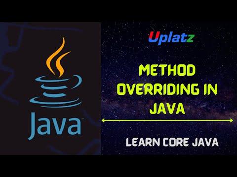 Method Overriding in Java   Java Programming Tutorial   Core Java ...