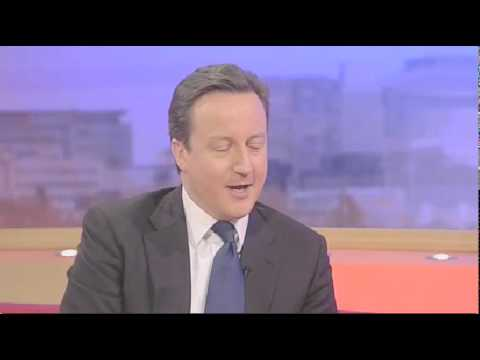 David Cameron on child sexualisation