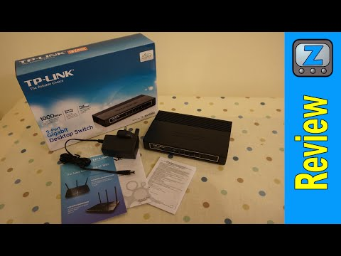 TP-Link TL-SG1005D Gigabit Switch Review and Installation